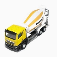 RMZ City 1:64 DIECAST MAN Truck Cement Mixer Yellow Liebherr