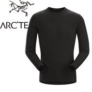【ARC TERYX 始祖鳥 男款 Satoro AR羊毛內層圓領衫《黑》】16270/保暖衣/內層衣/羊毛衣/悠遊山水