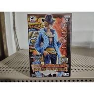 日版 金證  海賊王 DXF GRANDLINE MEN 15週年 EDITION vol6 香吉士(微破損)