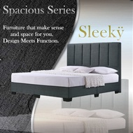 ★Cozyroom★Sleeky Fabric Bed Frame Available in Single Super Single Queen King Sizes