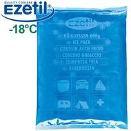 Ezetil 890200 600g(1入)德國製-18°C軟包保冷劑/保冰 戶外冰磚保冰保鮮 搭配保冷袋/行動冰桶使用