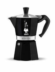 絕美限款 羅馬尼亞製 黑色~ Bialetti Moka express 六杯份經典八角經典摩卡壺 6杯6人六人 限量款