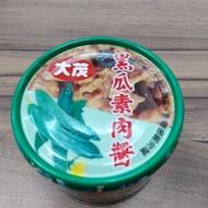 大茂黑瓜素肉醬每罐180公克