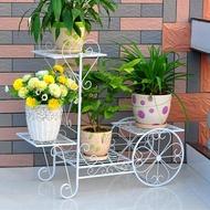 花架 鐵藝花架多層花盆架客廳陽台室內多功能花架子綠蘿多肉植物架  韓菲兒