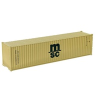 1pc HO Scale 1:87 40ft Shipping Container Model Trains Wagons Railway Carriages C8746