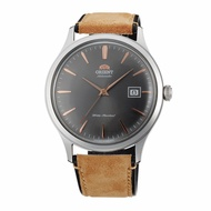 Orient Bambino Men Leather Date Automatic Watch AC08003A