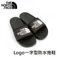 [ THE NORTH FACE ] 男 Logo一字型防水拖鞋 黑 / NF0A4T2RKY4