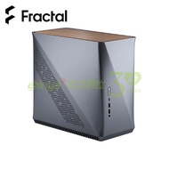 瑞典 Fractal Design Era ITX電腦機殼-鈦灰色 (ITX/核桃木上蓋/顯卡295mm/塔散127mm)