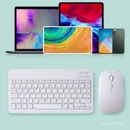 Mini Colorful Portable for Ipad Wireless Keyboard Mouse Combo Bluetooth Keyboard Rechargeable Keyboards for Ipad Laptop