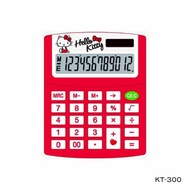 【E-MORE】HELLO KITTY 12 位數 卡通計算機 三麗鷗股份有限公司授權 KT-300