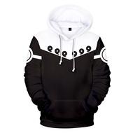 Hoodies Sweatshirt Hoodies Male/3d Anime Pullover Print Naruko Hoodie