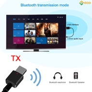 UU Portable 2019 Bluetooth 5.0 Receiver AUX USB Wireless  Adapter For Home TV MP3 PC Car ☞ECO