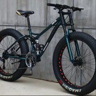 GSS sales !! Fat bike 26 full suspension mountain bicycle cycle downhill 4.0