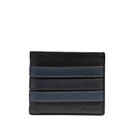 NEW ARRIVAL Coach Mens 3-IN-1 Wallet With Varsity Stripe (F24649) With Coach Gift Box