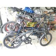 Aeroic alloy folding bike discovery brandnew foxter