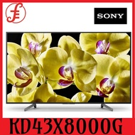 SONY SMART TV 4K UHD 43INCH KD43X8000G ULTRA HD 4K ANDROID LED TV