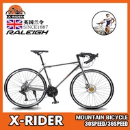 ✨Spot Express✨ Raleigh British Lanling Mountain Bike Variable Speed Road Bike Male Bicycle And Female Double Disc Brake Adult Cycling Light Off Road Racing Car