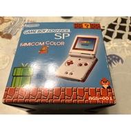 遊戲歐汀 GBA SP 任天堂 瑪利歐紀念 限定主機 美品