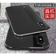 iPhone X / Xs 輕薄 防摔 散熱 矽膠 碳纖維紋 軟殼 後蓋 殼 套 iphoneX 全包 氣囊 保護殼