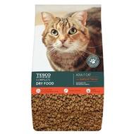 TESCO 3KG SEAFOOD ADULT CAT COMPLETE DRY FOOD