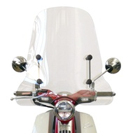 Y.S Fabbri 3310A Honda SUPER CUB C125 風鏡+風鏡支架/擋風鏡/整流罩