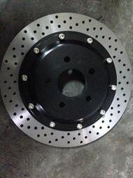 FORD FOCUS MK3 MK2.5 MK2後加大碟盤 302mm 325mm 陶瓷來令片 台製金屬油管