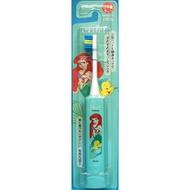 大賀屋 日本製 小美人魚 電動牙刷 牙刷 兒童牙刷 大人牙刷 學校 日本代購 公主 迪士尼 正版 J00016478