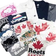 全新正品  Roots 上衣 加拿大代購 t恤 短袖 t 恤 情侶款 經典款logo 棉質 衣服 大尺碼 短T