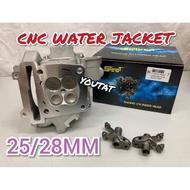 LC135/Y15 CNC RACING HEAD 25/28MM WATER JACKET SWIPOH