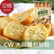 【豆嫂】韓國零食 CW  大蒜麵包餅乾(400g)