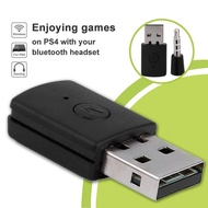 Jiuch PS4 Headphone Receiver 3.5mm Bluetooth 4.0 + EDR USB Stable Adapter USB Adapter