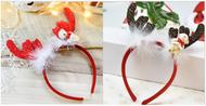 東區派對-聖誕節服裝配件,聖誕節髮箍/鹿角髮箍/小熊鹿角髮箍