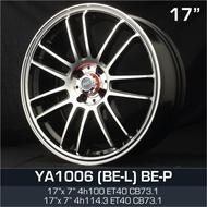 17 inch 7JJ 4X100 / 4X114.3 ET40 ORI CAR SPORT RIMS WHEELS YA1006