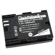 電池王 For Canon LP-E6 單眼高容量鋰電池