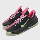 Nike 籃球鞋 Ambassador XIII 運動 男鞋 明星款 LBJ 避震 包覆 夜光底 球鞋 黑 綠 CQ9329001 26cm BLACK/GREEN