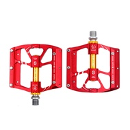 Sport Camp Road Bicycle Aluminum Alloy Non-Slip Bicycle Platform Pedals Mountain Bike Pedal Set