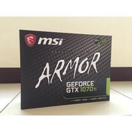 二手出清  【免運】【保固內】高階顯示卡 微星 MSI GTX 1070 8G Armor