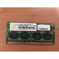 二手創見筆電記憶體DDR3 2GB
