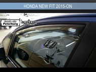 [晴雨窗][崁入式]比德堡嵌入式晴雨窗 本田Honda New Fit 2015年起專用 原廠品質 OEM正品