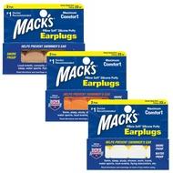 美國 Mack's 成人矽膠耳塞 2副裝 防噪音 飛行 游泳 適用 20821