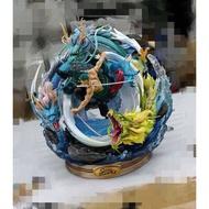 《小雨天》現貨代購高品質翻模 黑珍珠-索隆 海賊王 索隆 強者之路 最強龍卷風 草帽團系列 GK 雕像 完成品