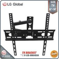 LG TV Bracket Wall Mount Full Set Screw for TV LCD Size 32-70 Inch (V-LED-HMA4604)