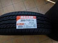 MAXXIS 瑪吉斯輪胎 MAP1 205 70 15 全新輪胎,單條特價1950元,2020年製。