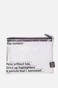 Clear It Pencil Case