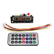 2V bluetooth 5.0 MP3 Decode Board Audio Module USB TF Radio For Car+Controller
