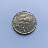 Uang Koin Malaysia 20 Sen