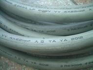 超便宜小舖 大亞 太平洋 宗葆 電線 電纜 PVC  8mm*2C 零碼可切裁切 歡迎留言詢問 以尺報價