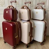 ส่งออกญี่ปุ่นกล่องภาพ กระเป๋าเดินทางแต่งงานสีแดงกระเป๋าเดินทางแต่งงาน20-นิ้ว22-นิ้ว24นิ้วกระเป๋าเดินทางจัดส่งฟรี