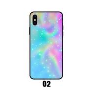 เคสโทรศัพท์ เคส Apple Iphone X / Iphone Xs ix  (ใช้เคสตัวเดียวกัน) ลาย สีรุ้ง