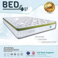 Bed4U - ECOlux (Athena) King/Queen Mattress - Therapeutic Bonnel Spring Mattress /10inch